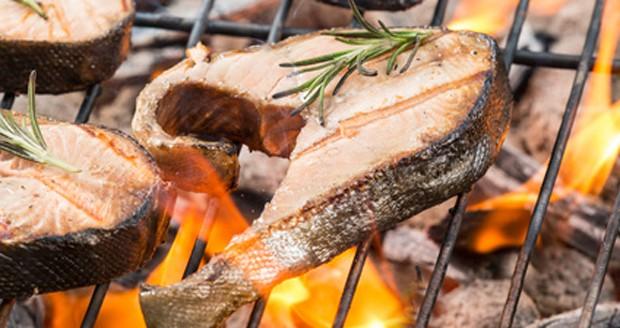 Fischfilet am Grill