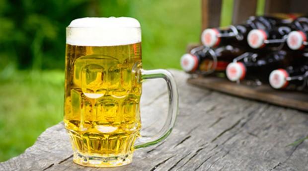 Bier zum Gegrillten