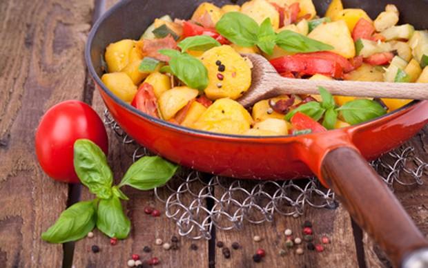 Gesunde Ernährung mit weniger Fett