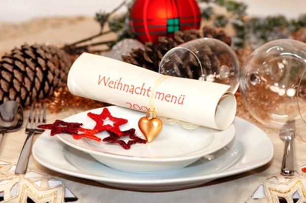 Weihnachtsfeier Menüvorbereitung