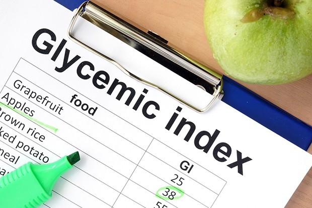 Im Internet findet man Tabellen mit den Glyxwerten für viele Lebensmittel.