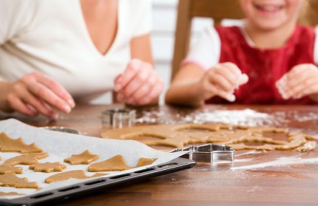 Lebkuchen backen mit Kinder