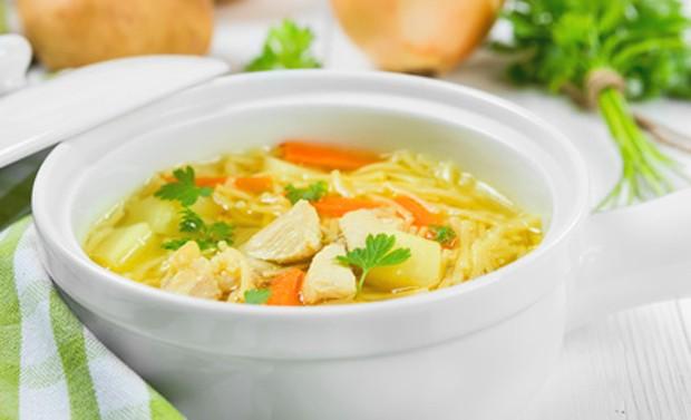 Wärmende und wohlschmeckende Suppe