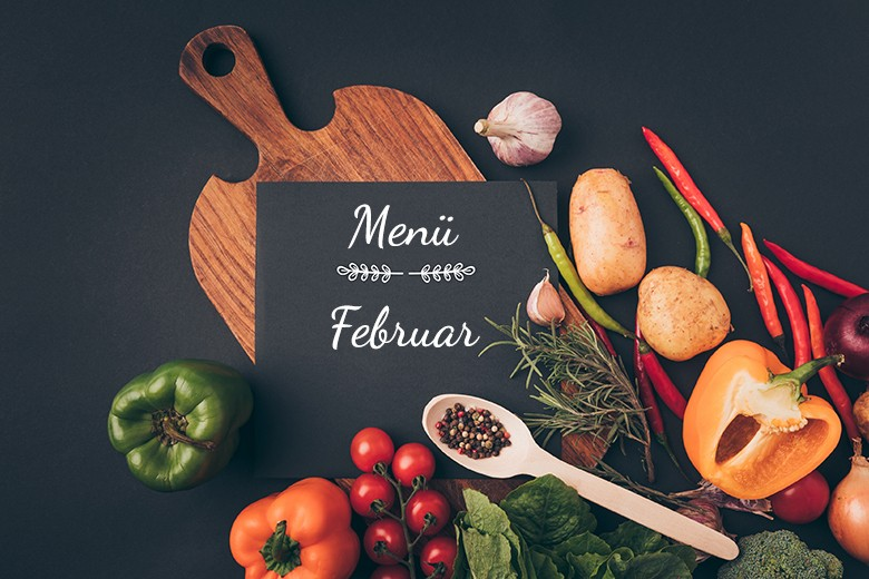 Menü im Februar