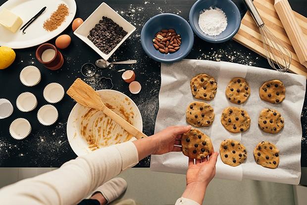 Die Kekse müssen nicht immer perfekt sein - das wichtigste ist, dass sie schmecken!