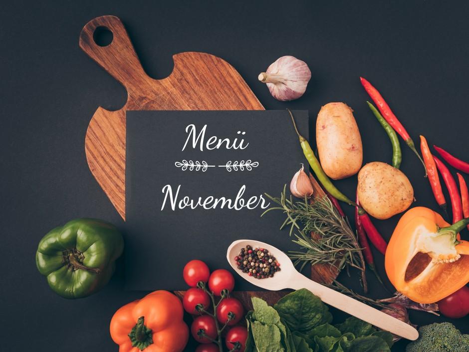 Menü im November