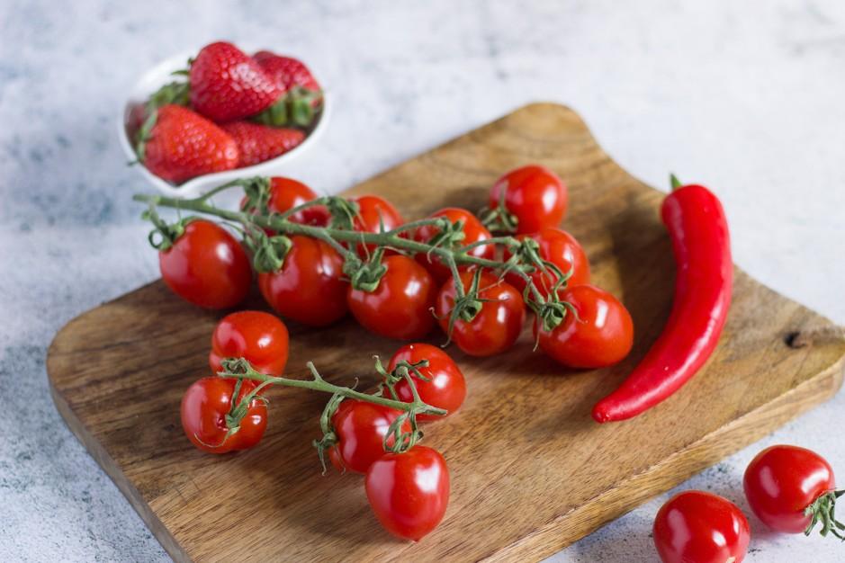 Tomaten-Erdbeer-Marmelade mit Chili