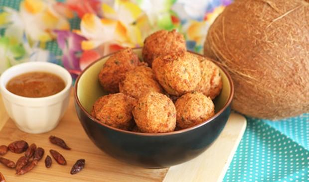 Kokosnuss Gericht