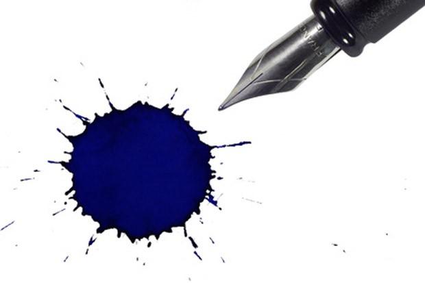 Kugelschreiberfleck