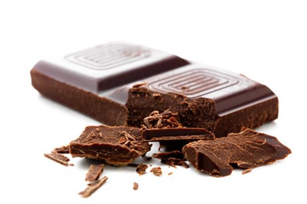 Schokoladenfleck