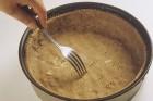 Springform für den Topfenkuchen