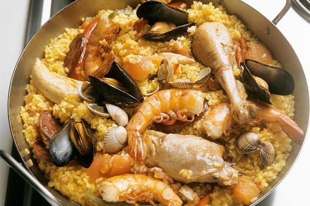 Grundrezept Paella