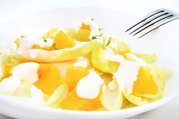 Orangen-Chicoreesalat