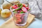 Kartoffelsalat mit rote Rüben