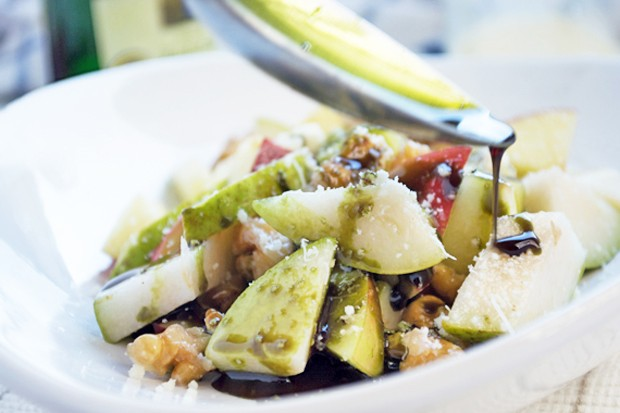 Birnen-Apfel-Salat