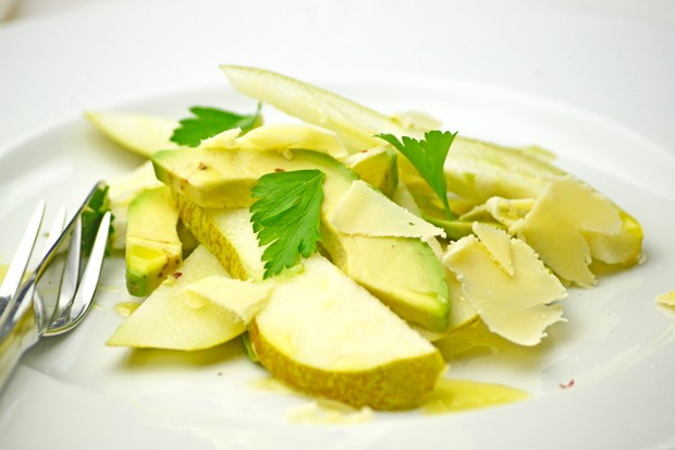 Avocado-Birnensalat