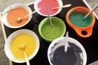 Die Regebnbogenfarben