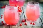 Rote Ribisel Limonade