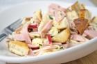 Traditioneller Wurstsalat