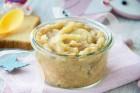 Zwieback-Brei mit Pfirsich