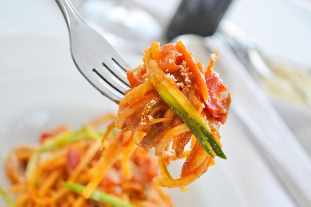 Tag 28: Gemüsespaghetti
