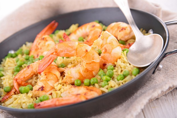 Tag 29: Shrimps-Pfanne