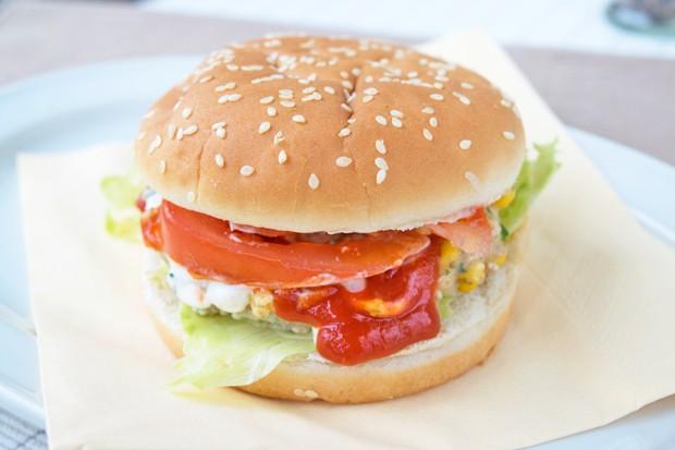 Tag 33: Gemüse-Burger