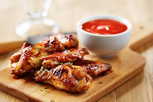 Chicken-Wings mit Honig
