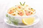 Lachsspaghetti
