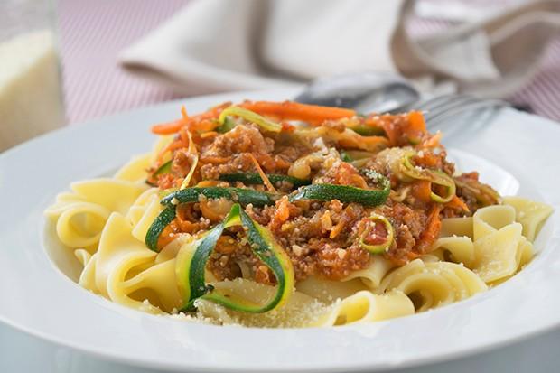 Zucchini-Karotten Pasta