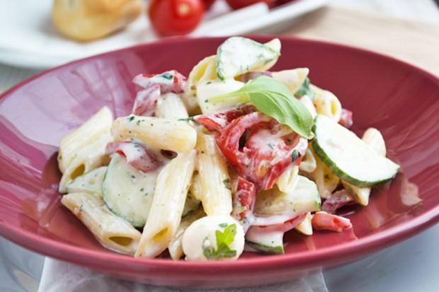 Penne-Salat mit Joghurt