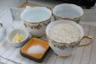 Zutaten für Reis aus dem Backofen