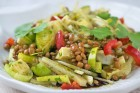 Warmer Puy-Linsen-Salat