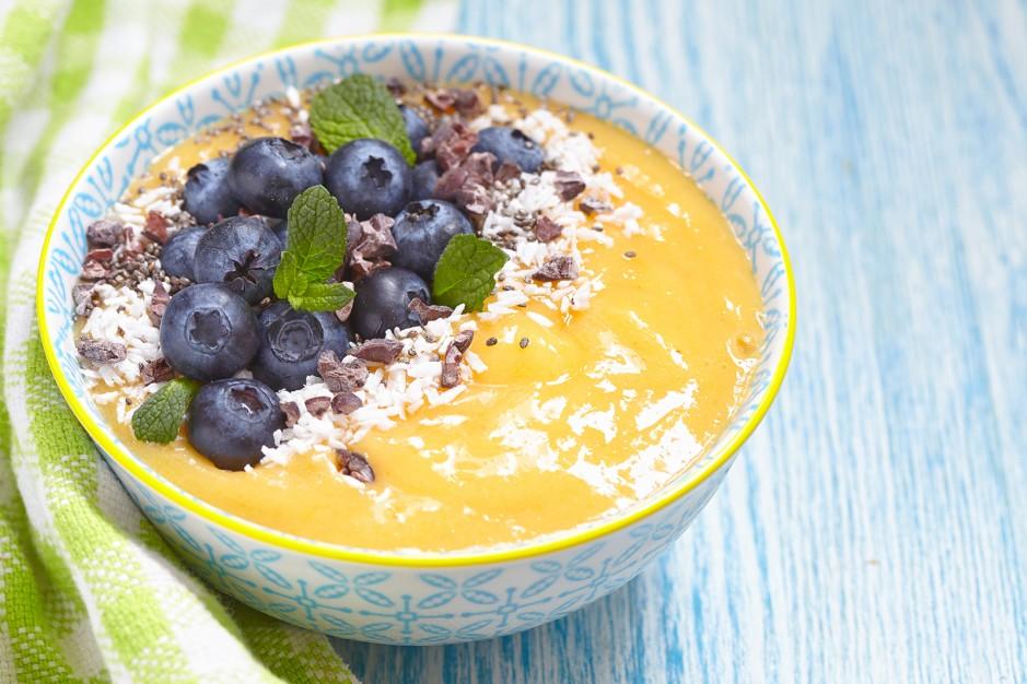 Smoothie Bowl für Vegane