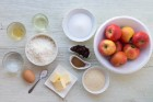 Zutaten für Apfelstrudel 1 Blech