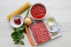 Spaghetti Bolognese Zutaten für 2 Personen
