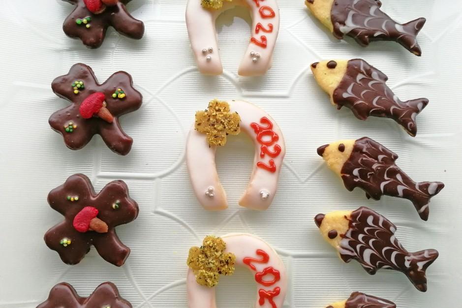 Glücksbringer - Kekse