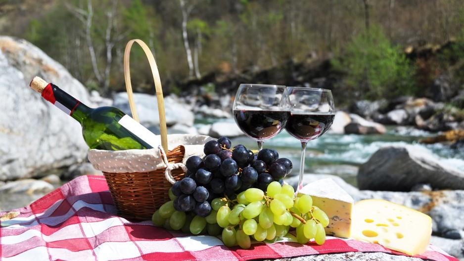 Weinbauregionen Bergland