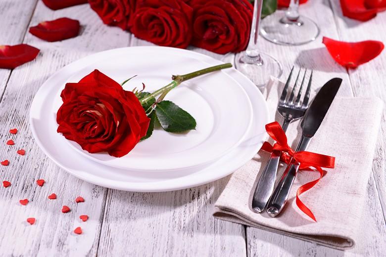 Valentinstagsmenüs - das perfekte Valentinstagsessen