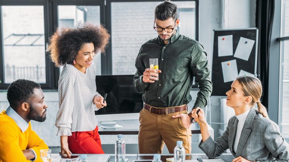 Cocktails für ein Meeting