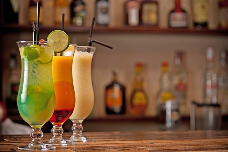 Cocktails mit Fruchtsaft