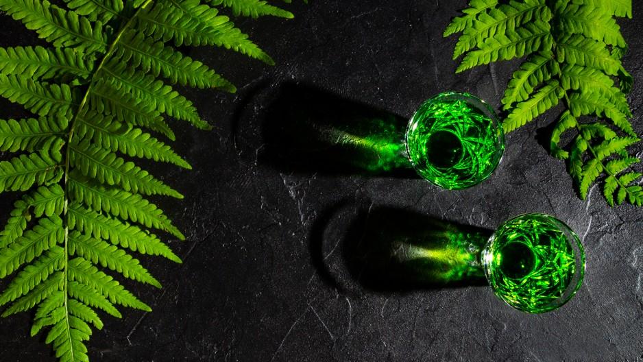 Cocktails mit Absinth