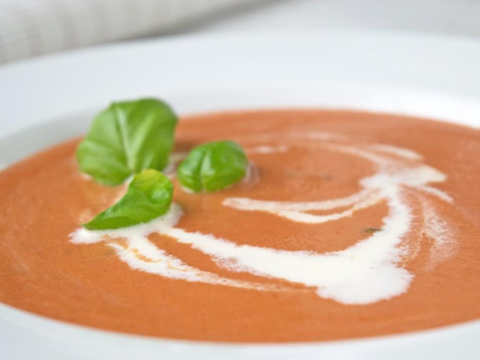Basische Tomatensuppe