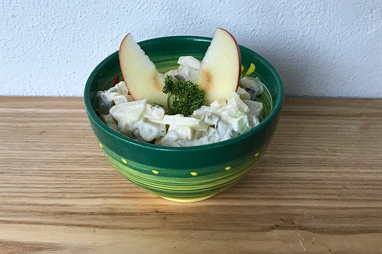 Apfel-Käse-Salat