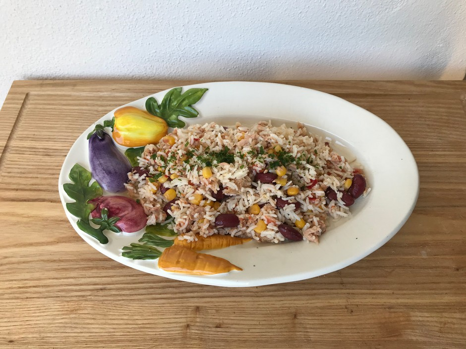 Reis-Thunfisch-Salat