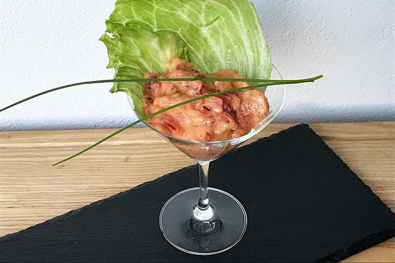 Cocktail-Garnelen