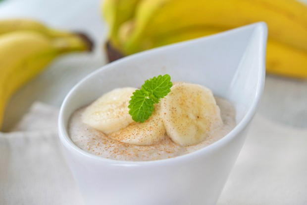 Zimtcreme mit Bananen