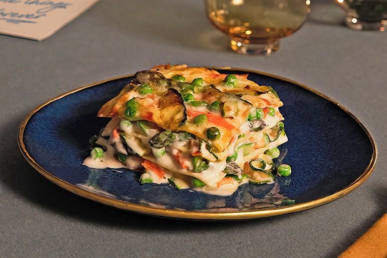 Barilla COLLEZIONE Vegetarische Lasagne