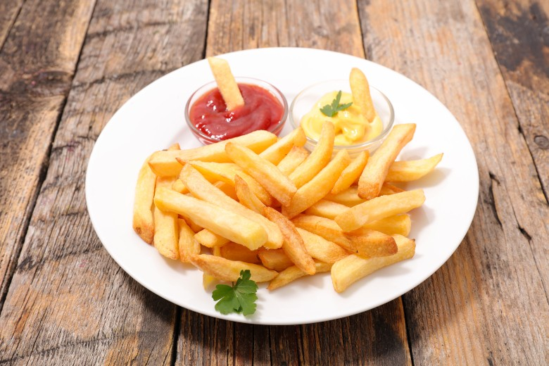 Perfekte Pommes frites