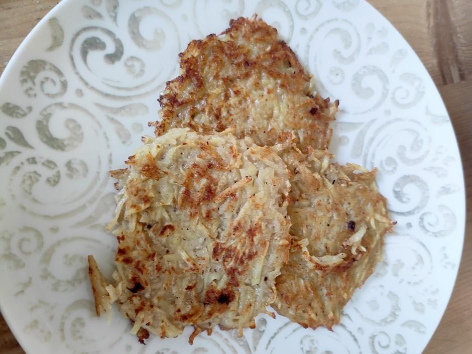 Kartoffel-Haferflocken-Puffer